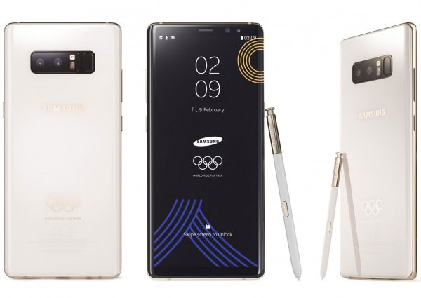 Олимпийские смартфоны получат все участники соревнований.