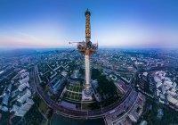 Останкинская башня в Москве изменит свой цвет