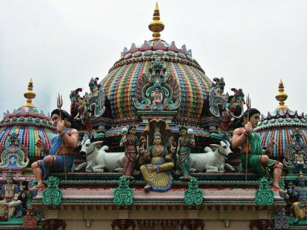 Строить храм будут специалисты из Индии.