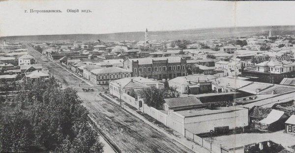 город Петропавловск, Татарская слобода, начало XX века