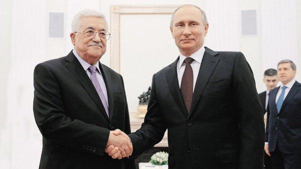 Путин и Аббас обсудили перспективы палестино-израильского урегулирования.
