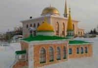 В Татарстане появилась снежная мечеть