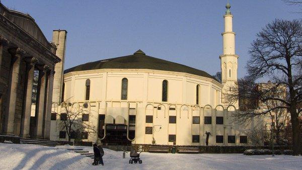 Соборная мечеть Брюсселя.