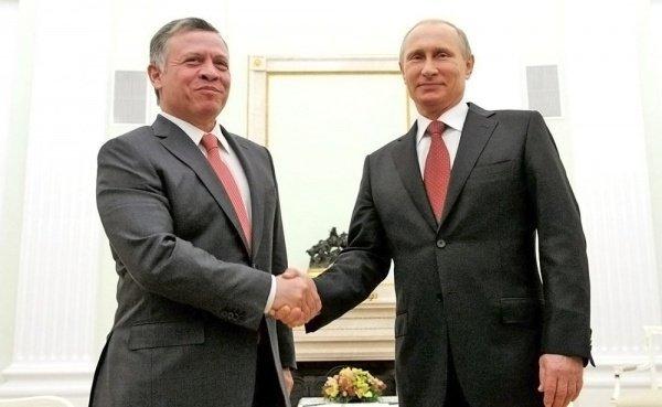 Встреча лидеров России и Иордании состоится в Москве.