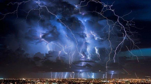 Перемены климата будут вести к сокращению частоты ударов молний