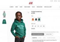 Толстовки H&M с расистской надписью взлетели в цене