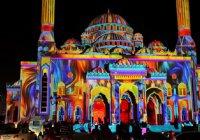 В ОАЭ проходит масштабный «Фестиваль света»
