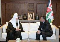 Король Иордании встретился с патриархом Кириллом