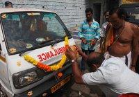 В Индии мужчину избавили от 14-килограммовой опухоли