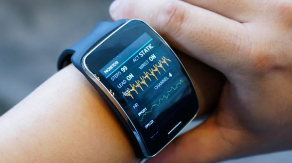 Самсунг выпустит «умные» часы для измерения кровяного давления— старательный тонометр