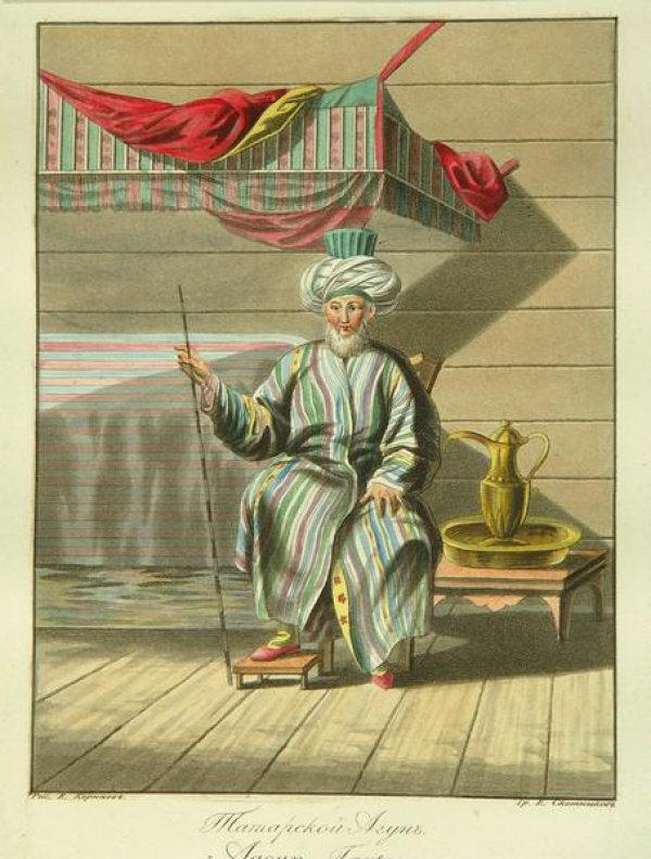 Корнеев Е.М. «Татарской Агун» «Agoun Tartare» 1812г.