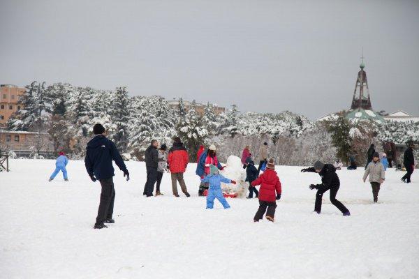 В центральных областях Эмилии-Романье, Марке, Молизе и Тоскане из-за снега объявили желтый уровень опасности