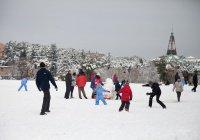 В Италии детям запретили ходить в школу в 10-градусный мороз