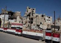 Российские военные доставили гуманитарную помощь в Хомс