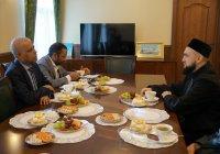 Муфтий Татарстана встретился с послом Бангладеш