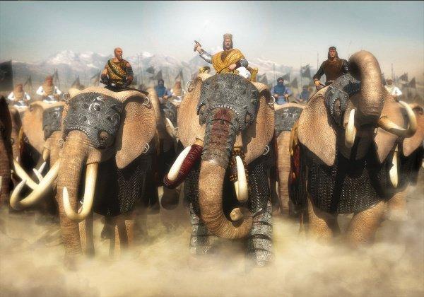 Абраха собрал огромное войско и направился в сторону Мекки