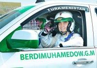 Президент Туркмении лично испытал гоночную машину