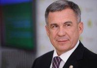 Рустам Минниханов отмечает 61-й день рождения