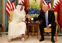 Эмир Катара и президент США договорились о сотрудничестве