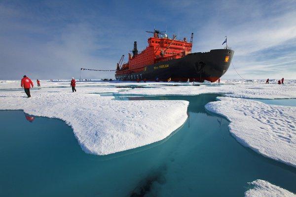 Средняя арктическая температура в феврале нынешнего года была на 20 градусов выше нормы