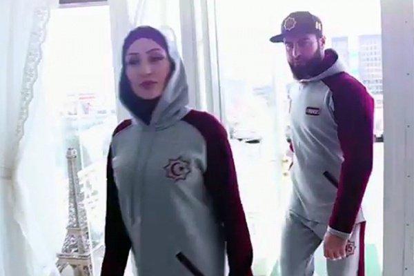 Мусульманская спортивная одежда.