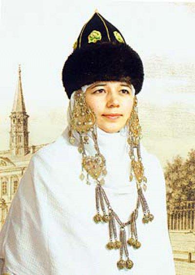 Головные уборы женщин Волжской Булгарии