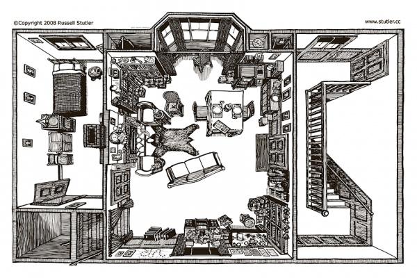 При этом самую полную версию своей работы американскому иллюстратору удалось представить общественности лишь спустя 13 лет