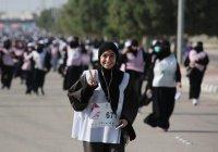 Больше 1,5 тыс. мусульманок приняли участие в первом женском марафоне в КСА