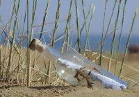 Старейшее послание в бутылке нашли на пляже в Австралии