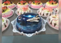 В Самаре президенту России подарили «космический» торт (ФОТО)