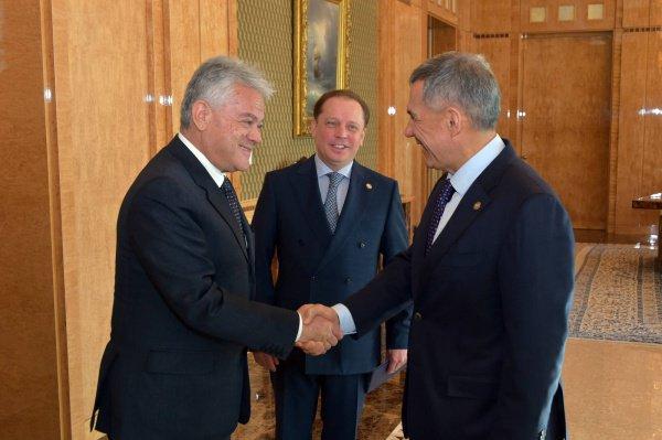 Встреча в Доме правительства РТ.