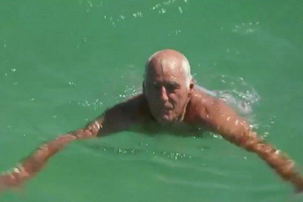 Когда хищная рыба потеряла к австралийцу интерес, тот вылез на берег и поднял тревогу