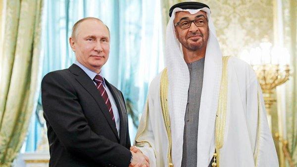 Россия и ОАЭ договорились о сотрудничестве на Ближнем Востоке.