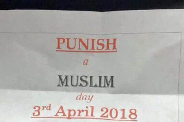 В Великобритании призвали устроить «день наказания мусульман»
