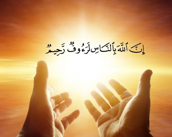 «Воистину, Аллах сострадателен и милостив к людям» (Сура аль-Бакара, аят 143)