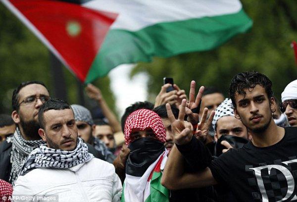 Палестинцы готовят новые протесты.