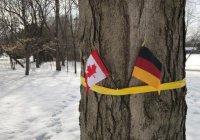 В Канаде короля Бельгии встретили с флагом Германии