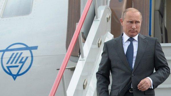 Президент России прибыл в Дагестан.