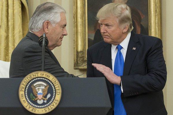 В США - новый госсекретарь.