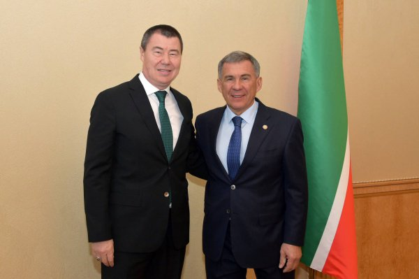 Рустам Минниханов договорился о сотрудничестве с мусульманскими предпринимателями.