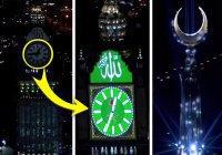 Уникальные кадры: так впервые зажглись знаменитые часы над Запретной мечетью