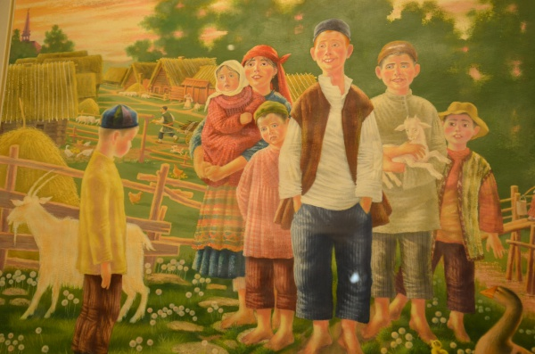 Выставка в галерее «Хазинэ».