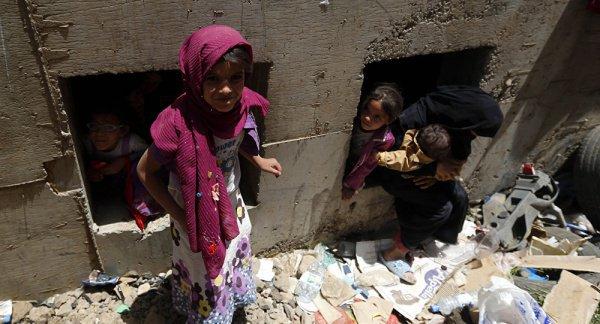 """"""" Боевые действия уже унесли жизнь более 10 000 человек, привели миллионы на грань голодной смерти"""""""