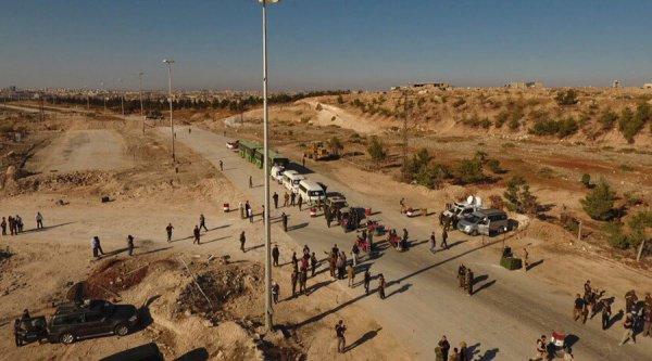 Прямая трансляция из гуманитарных коридоров организована на сайте Минобороны.
