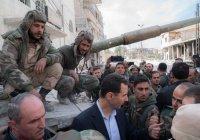 Башар Асад встретился с сирийскими военнослужащими в Восточной Гуте