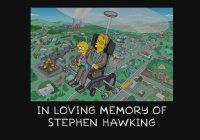 В «Симпсонах» почтили память Стивена Хокинга