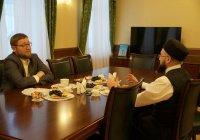 Камиль хазрат Самигуллин встретился с муфтием Москвы