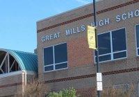 Стрельба в школе американского Мэриленда. Есть жертвы