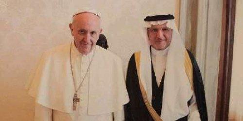 На встрече в Ватикане.