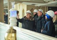 Шаймиев осмотрел гостиницу «Кул Гали» в Болгаре